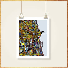 Load image into Gallery viewer, Chicago IL (Vertical) - Carland Cartography