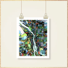 Load image into Gallery viewer, Portland, OR - Carland Cartography