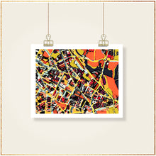 Load image into Gallery viewer, Somerville, MA (Orange) - Carland Cartography