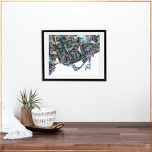Load image into Gallery viewer, Toronto, Ontario - Carland Cartography