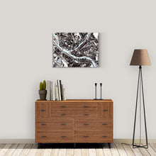 "Load image into Gallery viewer, Pittsburgh, PA. 30x40"" Canvas Print - Abstract City Map Art by Carland Cartography"