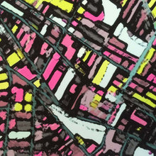 Load image into Gallery viewer, Somerville, MA (Black) - Abstract City Map Art by Carland Cartography