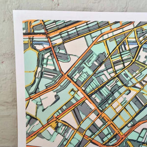 Boston South End - Carland Cartography
