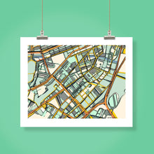 Load image into Gallery viewer, Boston South End - Carland Cartography