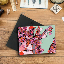 "Load image into Gallery viewer, Salem MA. 11x14"" Canvas Print - Abstract City Map Art by Carland Cartography"