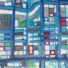 "Load image into Gallery viewer, Navy Pier, Chicago IL. 8x10"" Canvas Print - Abstract City Map Art by Carland Cartography"