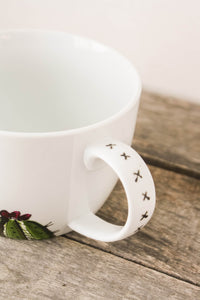 Grande Tasse porcelaine collection cactus Une seule de disponible