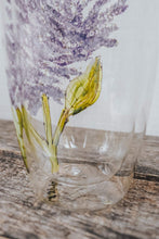 Load image into Gallery viewer, Grand verre double paroi design lilas