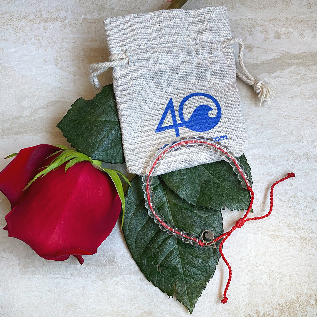 4 Ocean Bracelet, Limited Edition Red