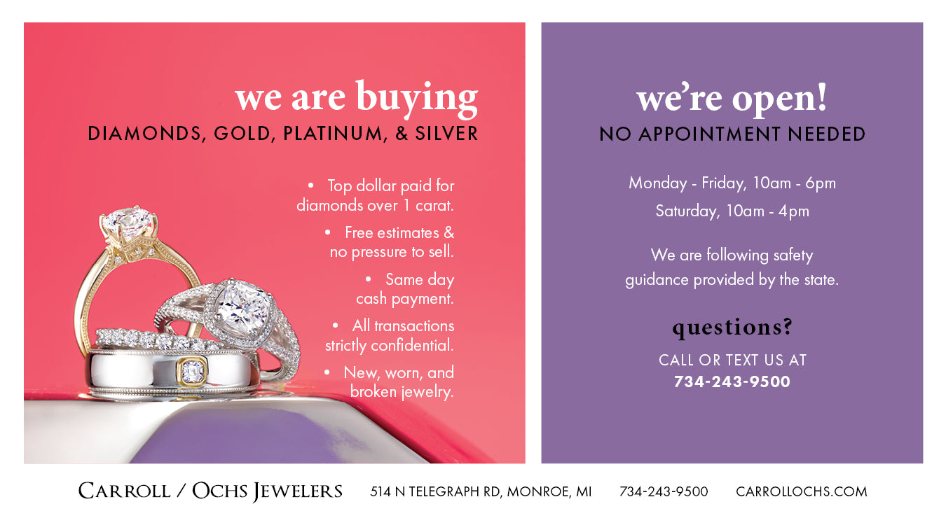 Carroll Ochs Jewelers Gold Buying, Hours, and Contact Info