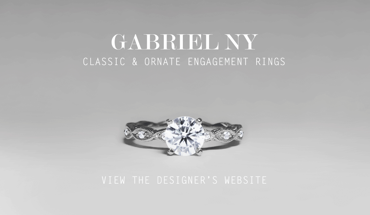 Gabriel NY - Classic & Ornate Engagement Rings