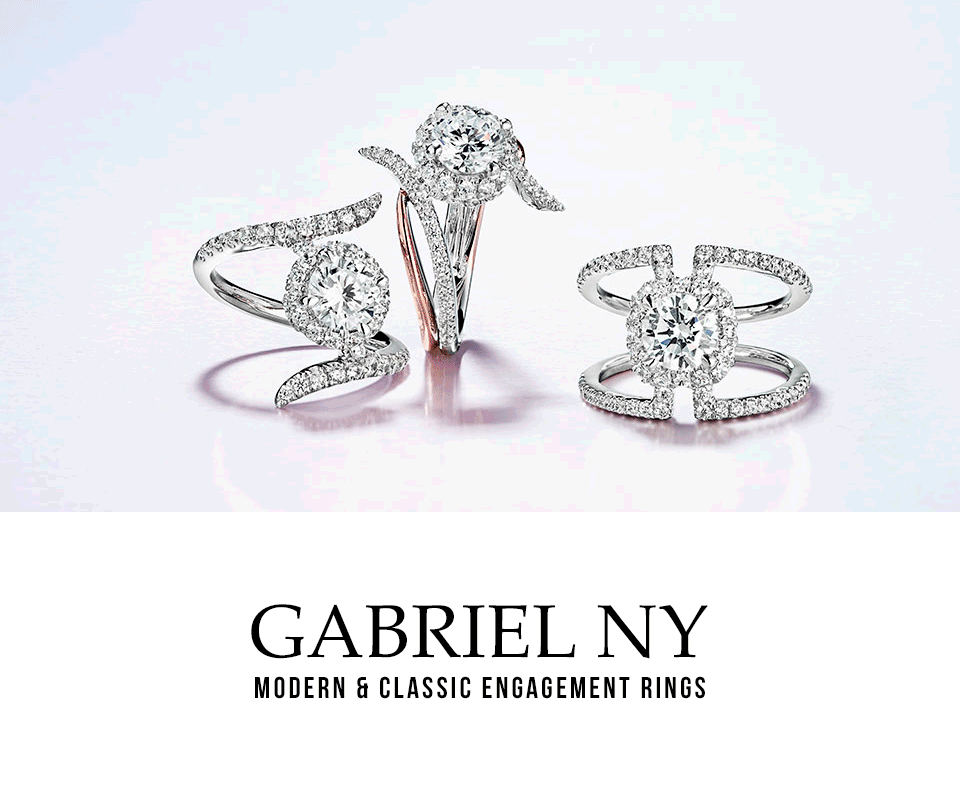 Gabriel New York - Ladies' Modern & Classic Engagement Rings