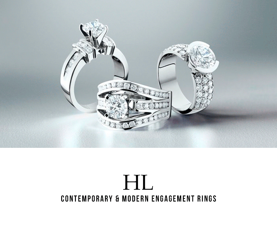 HL - Ladies' Modern & Contemporary Engagement Rings