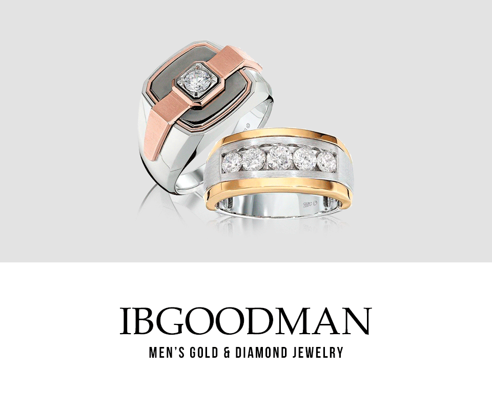 IBGoodman Men's Gold & Diamond Jewelry