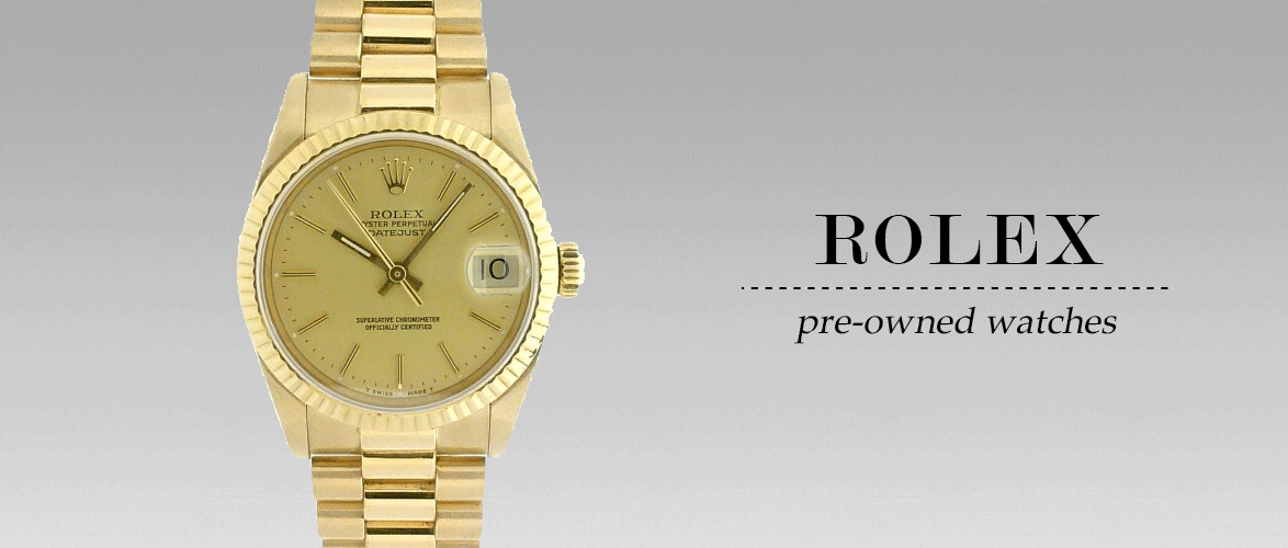 Pre-Owned Rolex - Men's & Ladies' Watches - Yellow Gold Rolex Watch