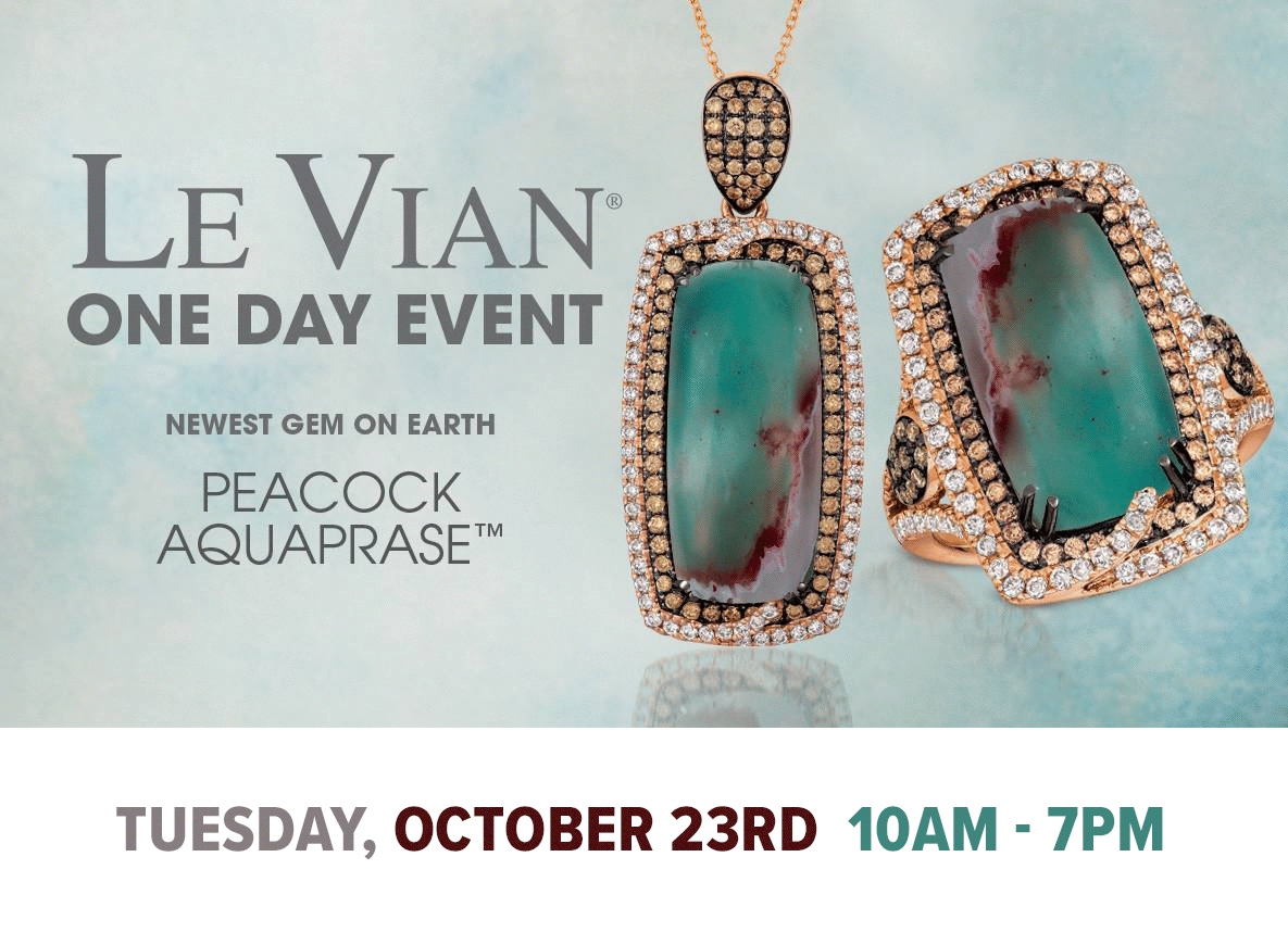 Le Vian One Day Event, October 23rd