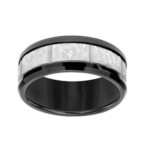 Sandblast Tungsten Wedding Band