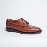 Longwing Derby in Tan Calf