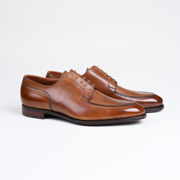 Balfour Split Toe Derby in Tan Antique Calf
