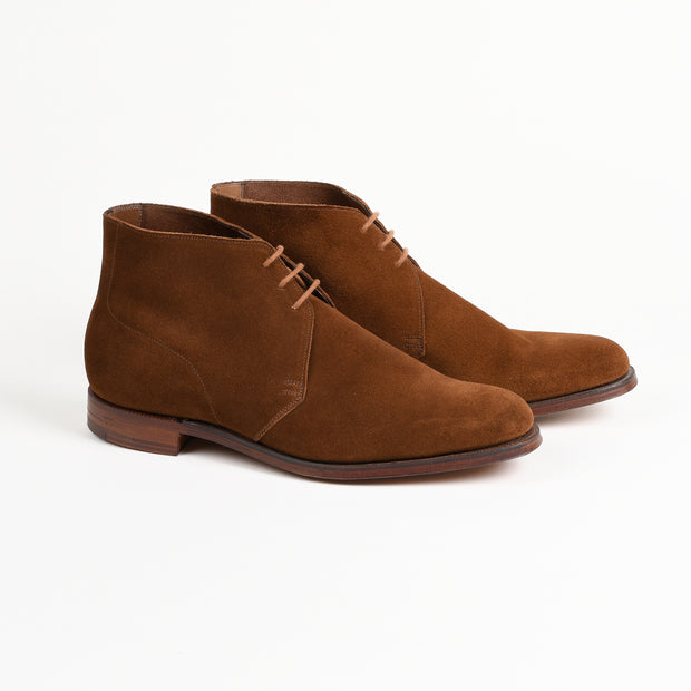 Unlined Chukka in Snuff Suede