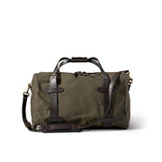 Medium Rugged Twill Duffle Bag - Otter Green