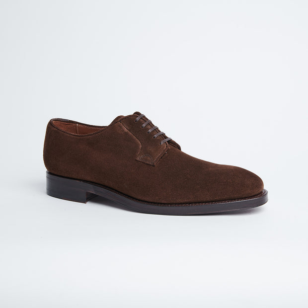 Nash Derby in Oak Brown Suede