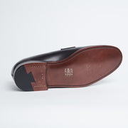Berkeley Penny Loafer in Dark Brown Calf