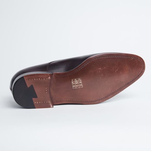 Dumas Cap Toe Derby in Dark Brown Calf