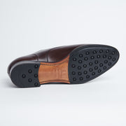 Split Toe Derby in Dark Brown Calf
