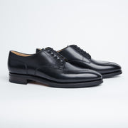 Split Toe Derby in Black Calf