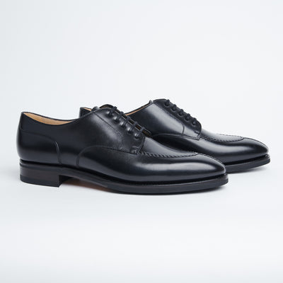 Split Toe Derby 136 in Black Calf