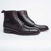 Graham Boot in Dark Brown Calf
