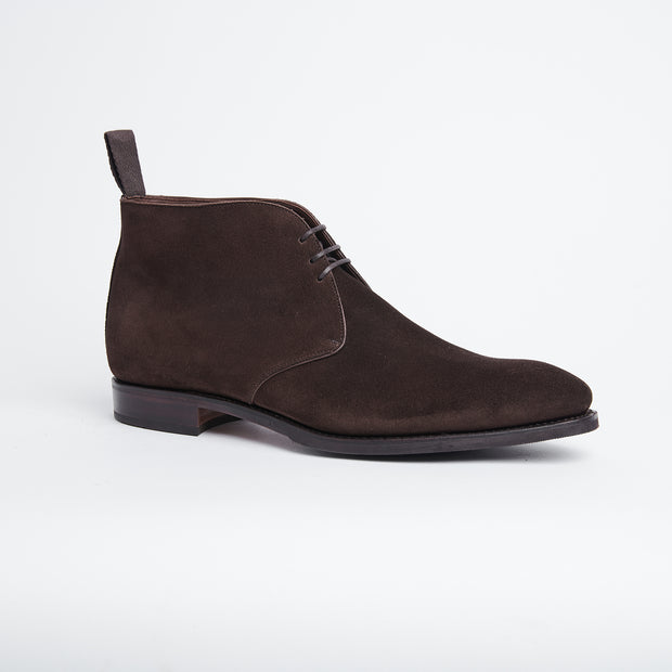 Chukka Boot 10027 in Dark Brown Suede