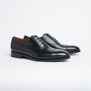 Alexander Cap Toe Oxford in Black Calf