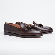 Cavendish Tassel Loafer in Burnished Calf