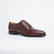 Faux Wingtip Oxford 110 in Brown Vegano Calf