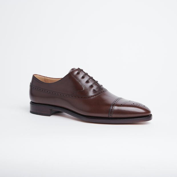 Balmoral Oxford 111 in Brown Calf
