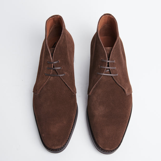 Gobi Chukka Boot in Oak Brown Suede
