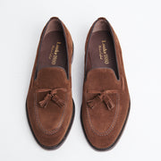 Russell Tassel Loafer in Polo Suede