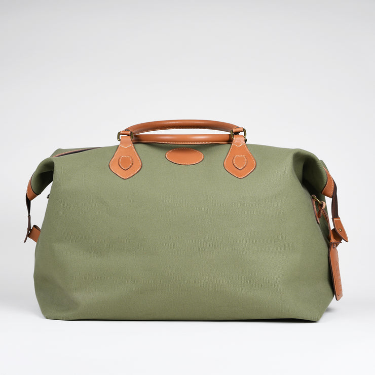 Large Explorer Holdall - Olive Canvas