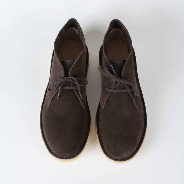 Driftflex Unlined Chukka Boot in Dark Chestnut