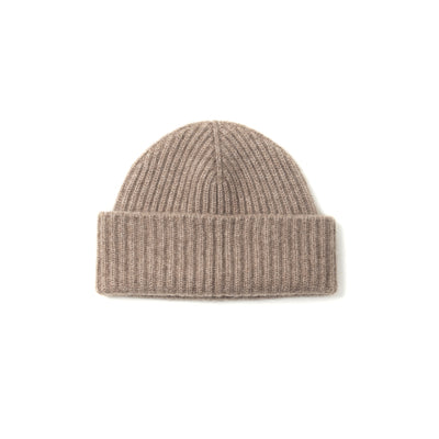 Alex Cashmere Beanie in Earth