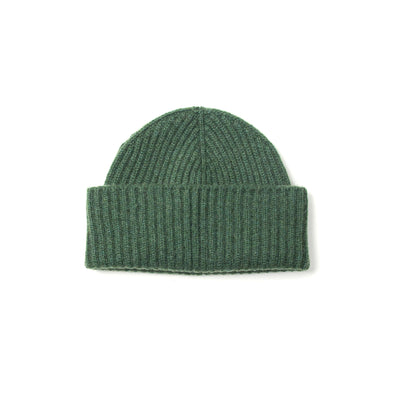 Alex Cashmere Beanie in Green