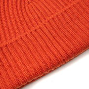 Alex Cashmere Beanie in Orange