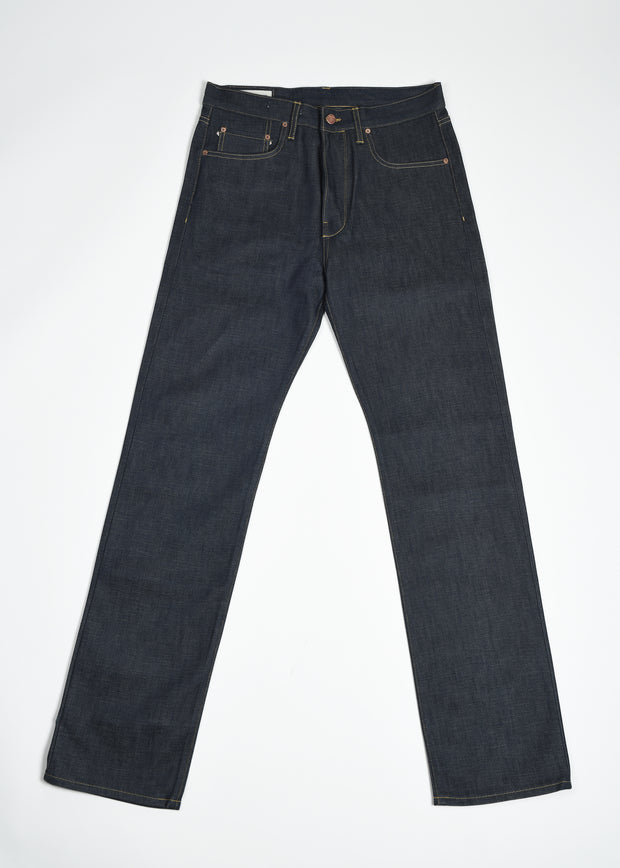 NW3 Slim Straight 14oz Selvedge Denim - Indigo