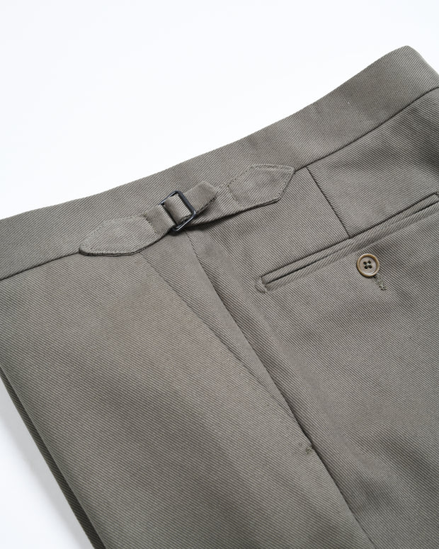 Made to Measure Trousers - Heavy cotton twill