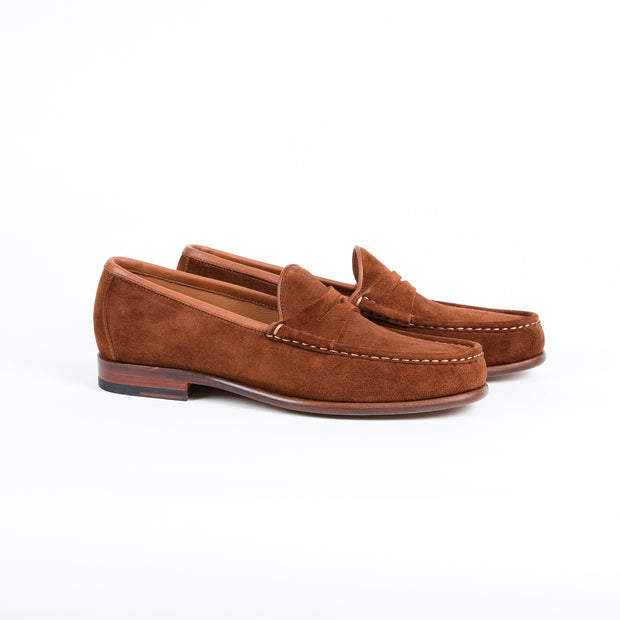 Penny Loafer 580789 in Polo Suede