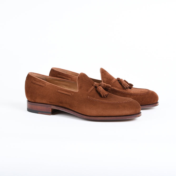 Tassel Loafer 80367 in Polo Suede