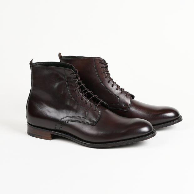 King Derby Boot in Mocha Calf