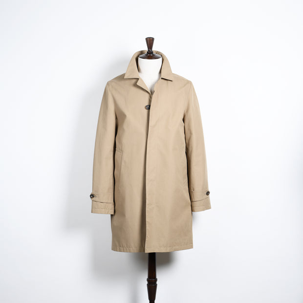 Kilburn Cotton Rain Mac - Beige